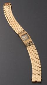 Alpina damearmbåndsur, 14 kt guld