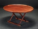 Mogens Lassen, 'Ægypterbordet' af mahogni