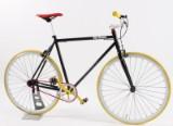 Von Braun. Fixiebike. Sortlakeret