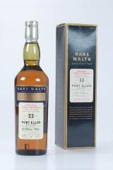 Port Ellen Whisky. Rare malt selection. 2000