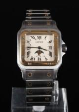 Cartier 'Santos Galbee Moonphase' men's watch