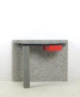 Aldo Cibic, a console table, model Belvedere for Memphis, Milano