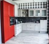 Vollständige Kücheneinrichtung von Nolte Küchen Windsor Lack Sahara