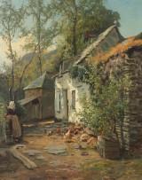 Arthur William Redgate, Lantidyll, Olja på duk