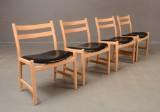 Hans J. Wegner. Chairs, model CH-47 (4)