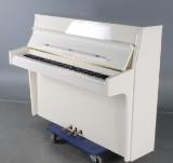 Sauter Spaichingen. Piano No. 112. White high gloss
