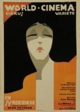 Sven Brasch. 'En Synderinde', 1918, poster