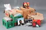 Samling LP'er 650 stk. blandet sortiment