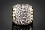 Brilliant-cut diamond ring, 18 kt. gold, approx. 1.70 ct.