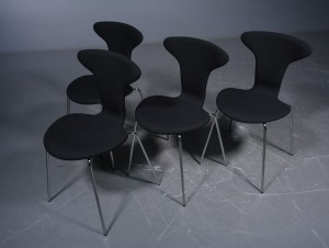 arne jacobsen 39 munkegaard 39 st hle gabriel fame wollbezug 4. Black Bedroom Furniture Sets. Home Design Ideas