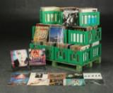 Samling LP'er, blandet rock, pop, mv (+1.000)