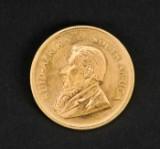Krugerrand, guldmønt 1980.
