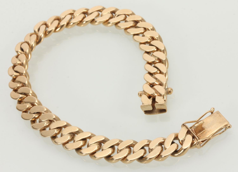panser armbånd guld