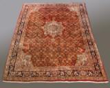 Bidjar carpet, Iran. Wool, hand-knotted,  308 x 222 cm