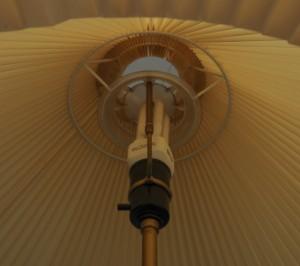 teleskoplampe gulvlampe le klint model 351 tage klint aage petersen. Black Bedroom Furniture Sets. Home Design Ideas