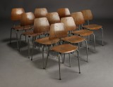 Dansk møbelproducent. Børne skole-/ stabelstole (10)