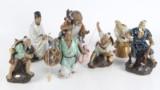 Syv Kinesiske figurer. (7)