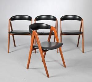 kai kristiansen stole Kai Kristiansen. Fire stole af teaktræ. (4) | Lauritz.com kai kristiansen stole