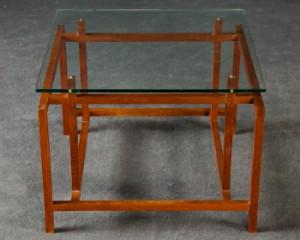 henning n rgaard sofatisch beistelltisch couchtisch in teak und glas f r komfort. Black Bedroom Furniture Sets. Home Design Ideas