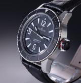 Jaeger-LeCoultre 'Master Compressor Navy Seals'. Men's steel watch, c. 2013