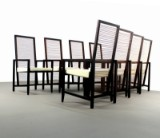 Franco Bizzozero, set of arm chairs, model Astoria for Pierantonia Bonacina (8)