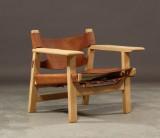 Børge Mogensen. The Spanish chair, model 2226, oak