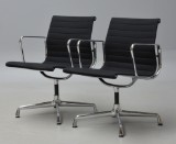 Charles Eames. Pair of armchairs, model EA-108 (2)