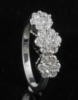 18kt diamond ring approx. 1.00ct