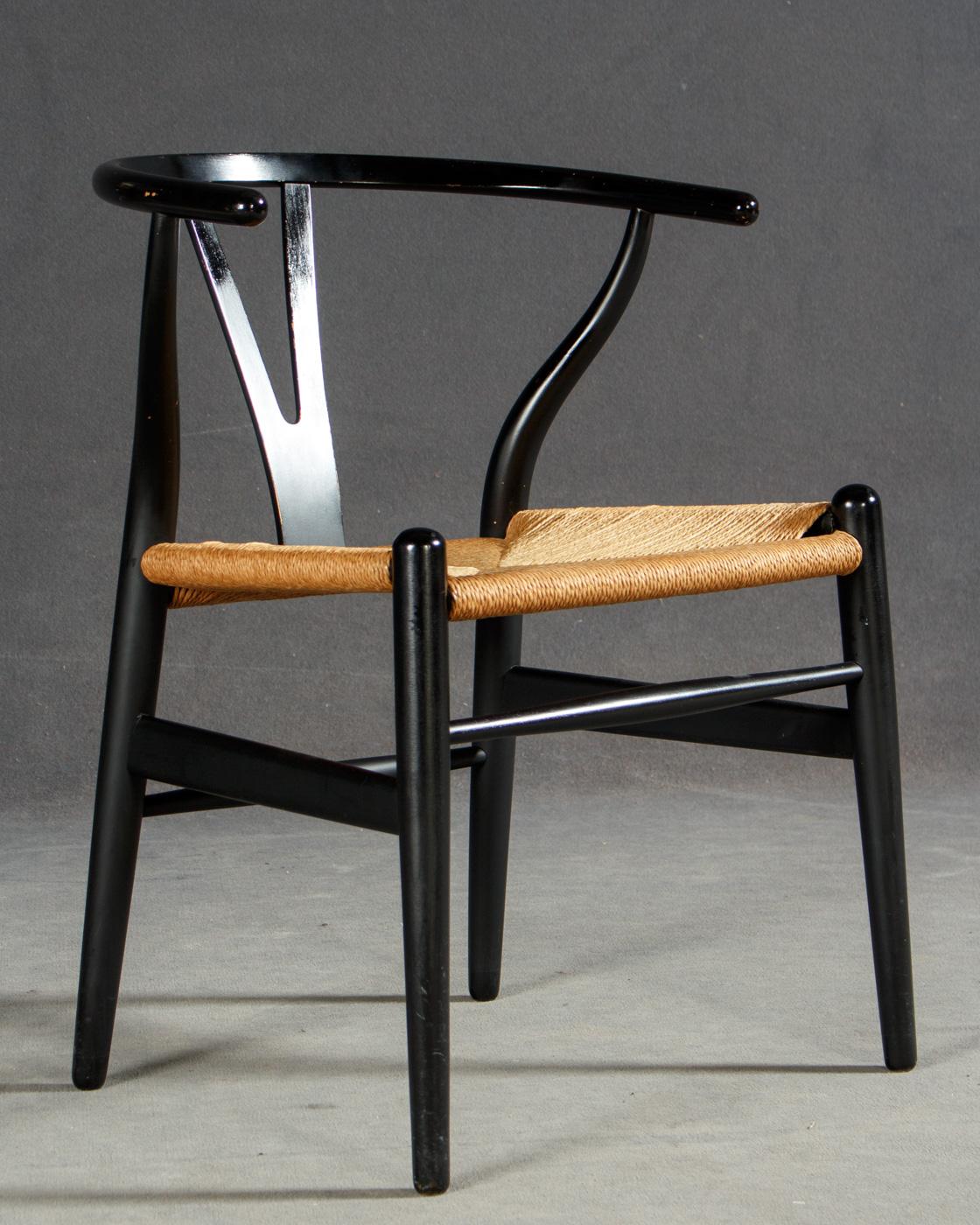 Hans J. Wegner, Stuhl Modell CH24 (Ypsilonchair / Y Chair) / Modell No. 24  Wishbone) Für Carl Hansen U0026 Søn