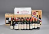 Vinsamling af primært Grand Cru Classe rødvine fra Bordeaux (58)