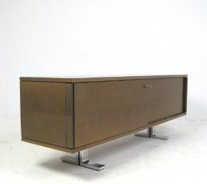 walter knoll dreipunkt schreibtisch sideboard aus der alpha serie 2. Black Bedroom Furniture Sets. Home Design Ideas