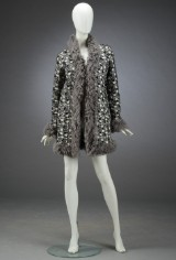 Chanel, leather coat, size 36/38