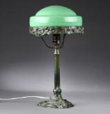 Art nouveau bordlampe, omkr. 1900