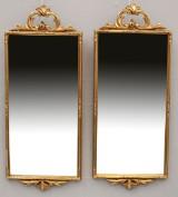 Speglar, ett par, förgyllda (2)