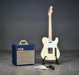 Squier guitar samt Vox Combo (2)