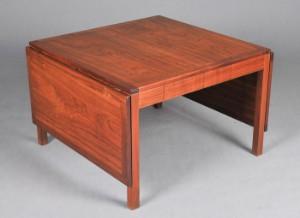 børge mogensen sofabord Børge Mogensen. Sofabord af teak med klapper model 5362   Lauritz.com børge mogensen sofabord