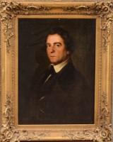 Okänd konstnär, 1800-tal. Mansporträtt.