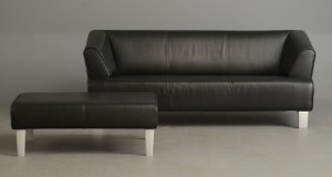 rolf benz sofa samt puf model 2300 2. Black Bedroom Furniture Sets. Home Design Ideas