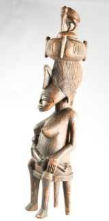 Senufo, Elfenbenskusten. Skulptur