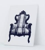 YOY, Tokyo. Easy chair, 'Canvas Armchair'. Digital print, Innermost