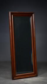 Spejl m. facetslebet glas, bemalet ramme, 1880-1900