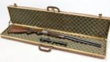 Krieghoff Trumpf. Drilling cal. 20/76 - 7x65 with insert barrel. 22WMR