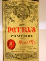 Petrus, Pomerol, 1971