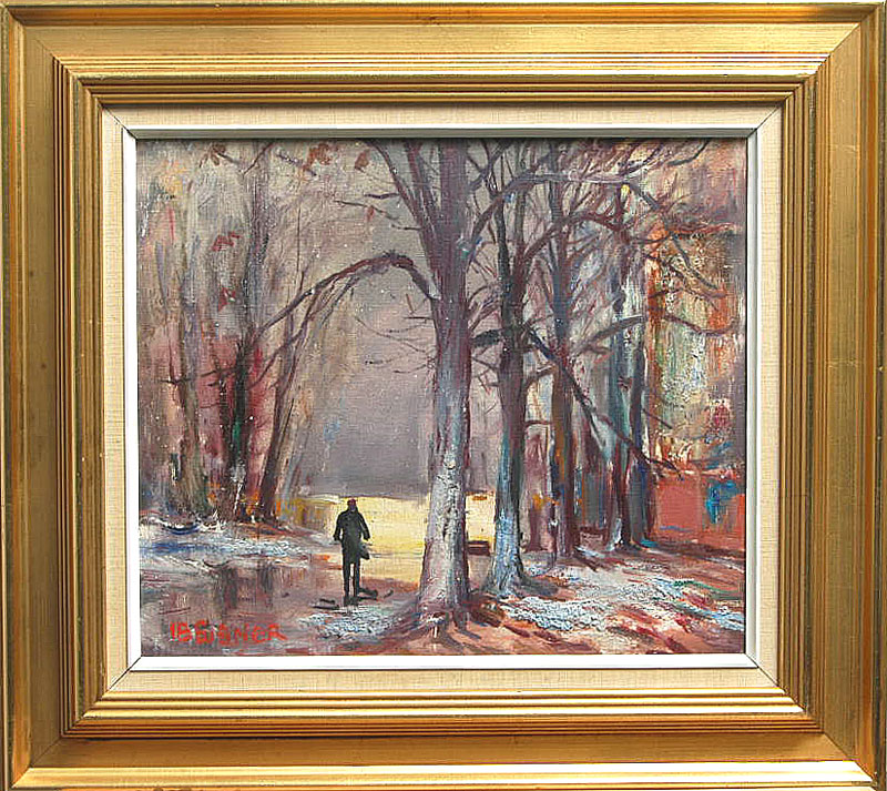 ib eisner malerier til salg