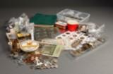 Stor kasse mønter (12 kg.) DK og udland, inkl. jubilæumsmønter