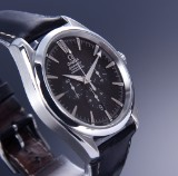 Omega 'Seamaster Aqua Terra'. Men's watch, steel, with black dial, c. 2006