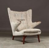 Hans J. Wegner. Lounge chair, Papa Bear Chair, model AP-19