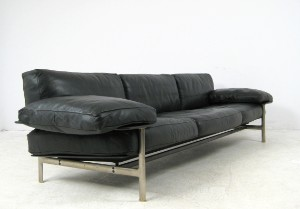 lot 3003697 antonio citterio paolo nava sofa model diesis for b b italia. Black Bedroom Furniture Sets. Home Design Ideas