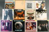 Samling LP'er. Bl.a. The Rolling Stones, The Who, John MAyall, T-Rex, Thin Lizzy, Savoy Brown, Gasolin, Styx, Steppenwolf m.fl. (49)