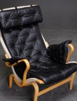 Hyndesæt til Bruno Mathssons Pernilla-stol. Sort (4)